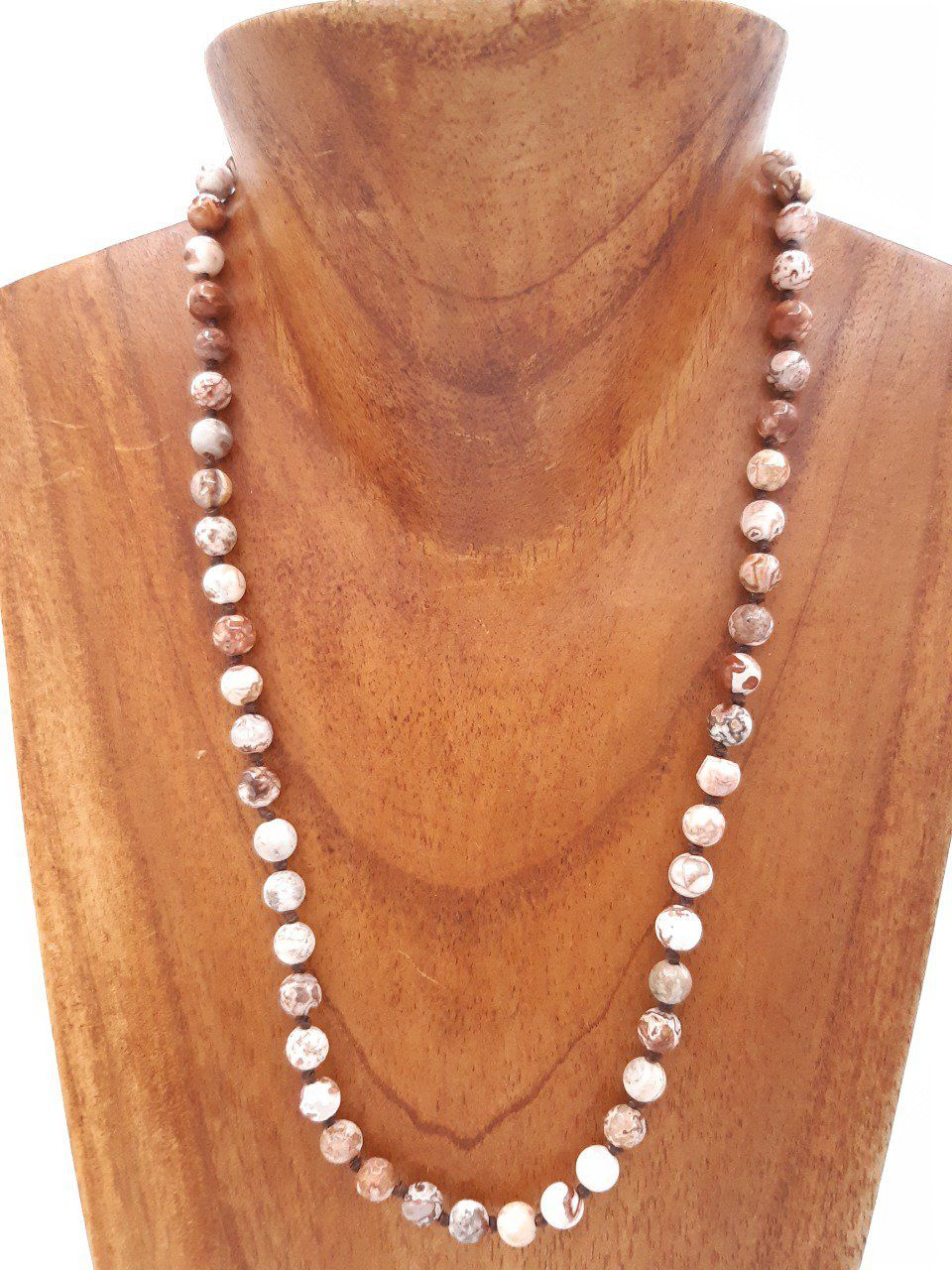 Collier en agate Crazy lace
